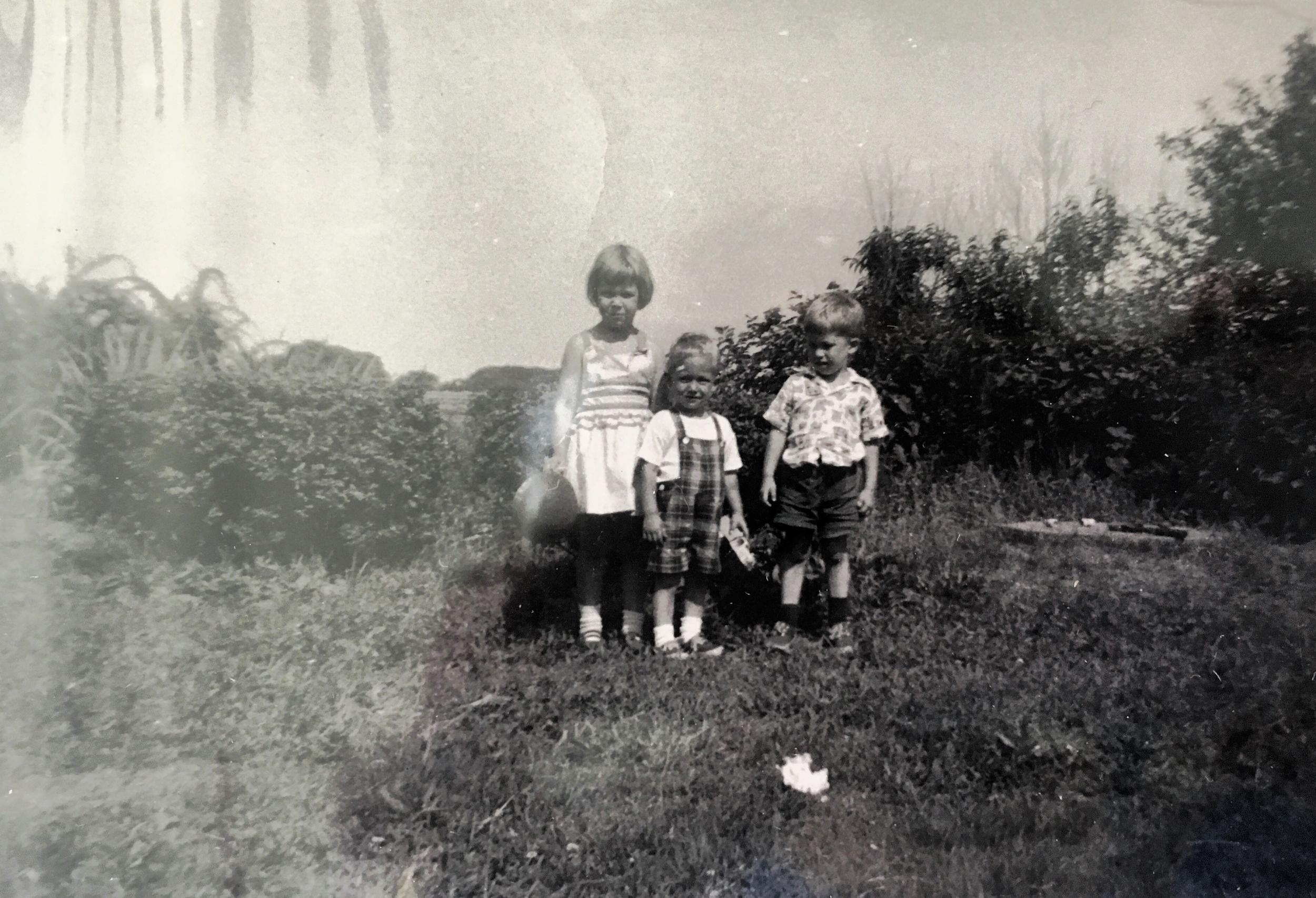 At Art's 2nd birthday, 1953.