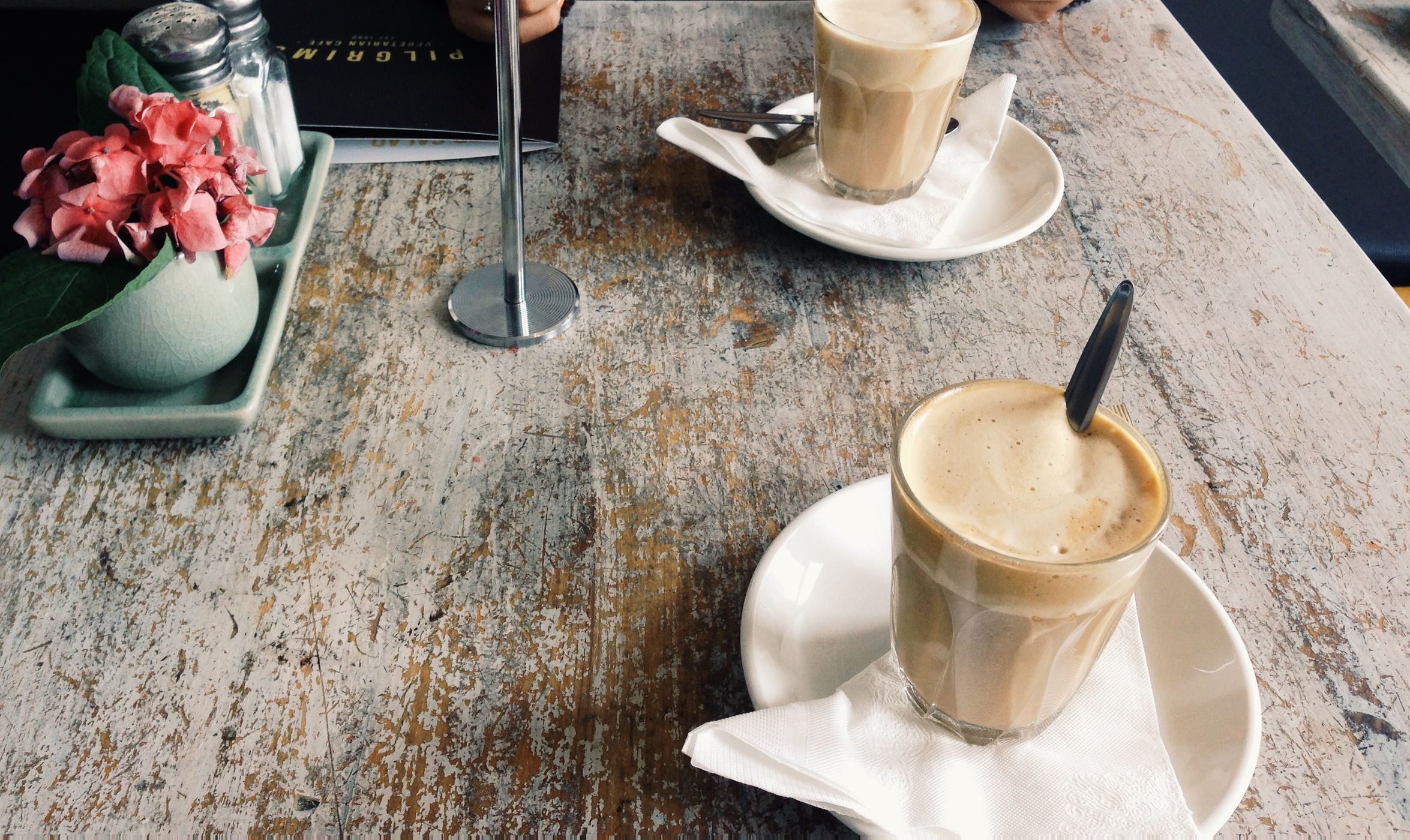Cafes.  Approximately  77%  of Americans drink coffee everyday. There are an estimated  50,000  cafes (and tip jars) in the US.