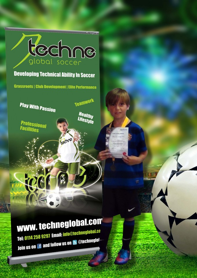 Winning football at Techne Global Sports