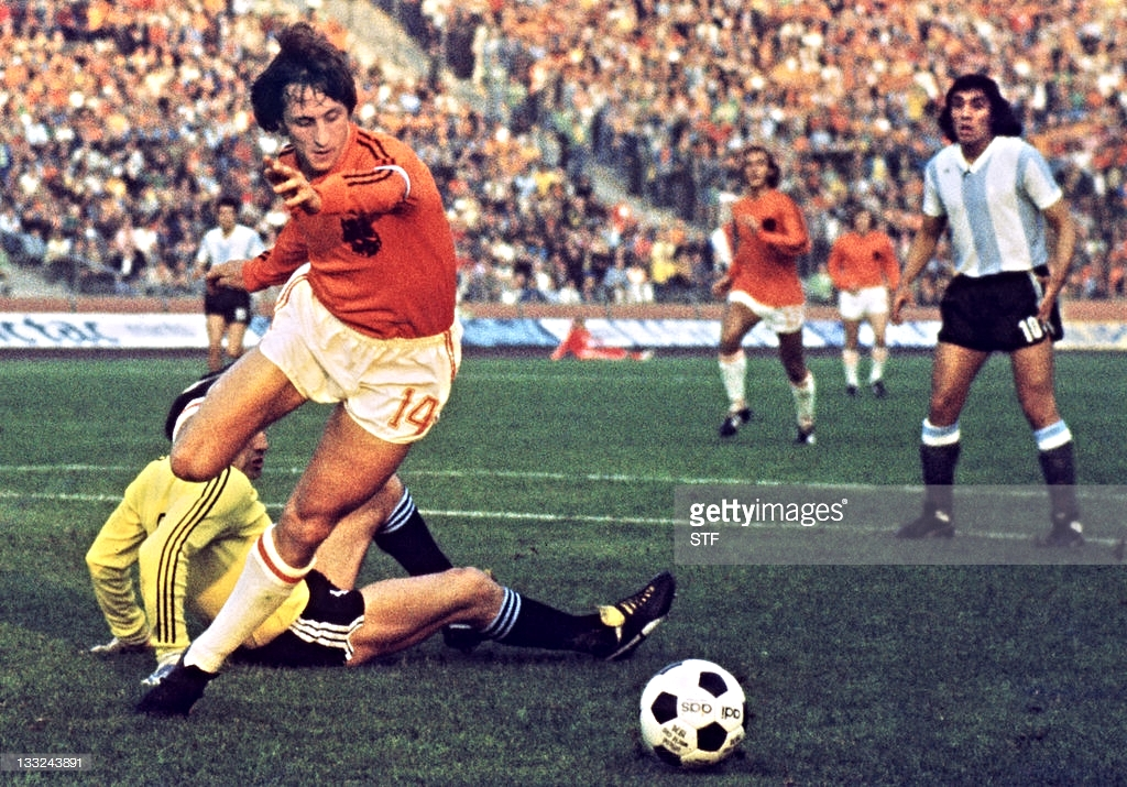 The Dutch master Yohan Cruyff is regarded by many elite football circles as one of those most responsible for the evolution of both Dutch and Spanish football and the development of Tika-Taka and Totale Football.