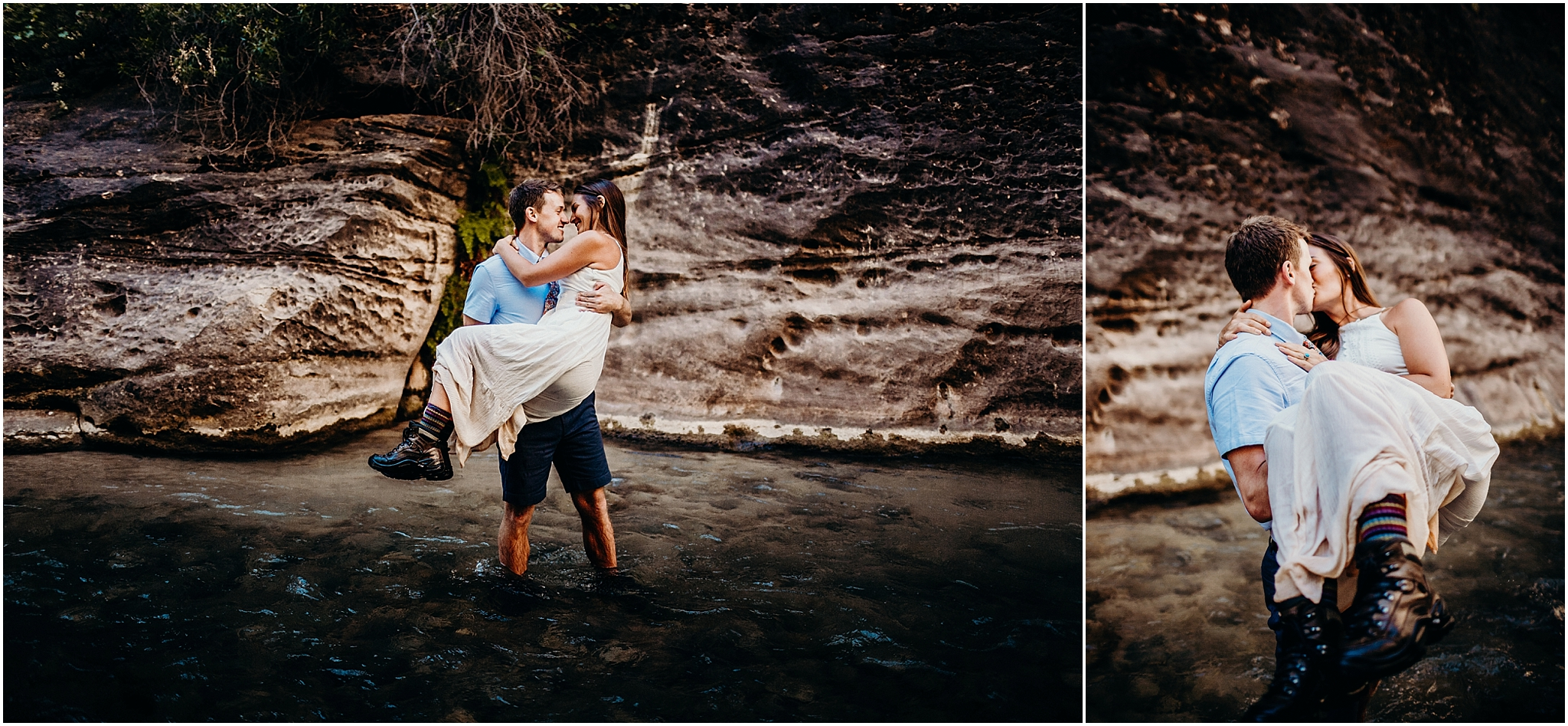 zion national park adventure engagement session zion portraits utah photographer arizona photographer 3.jpg