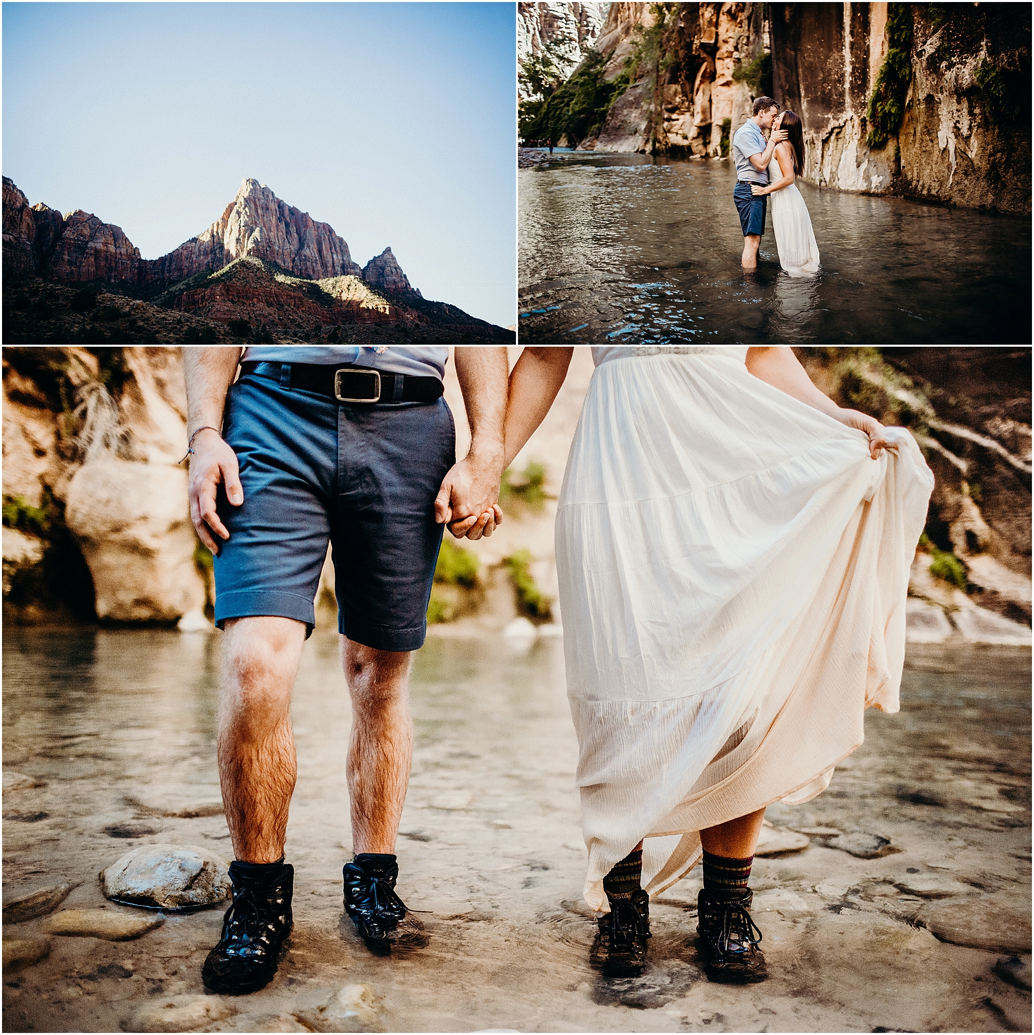 zion national park adventure engagement session zion portraits utah photographer arizona photographer 4.jpg