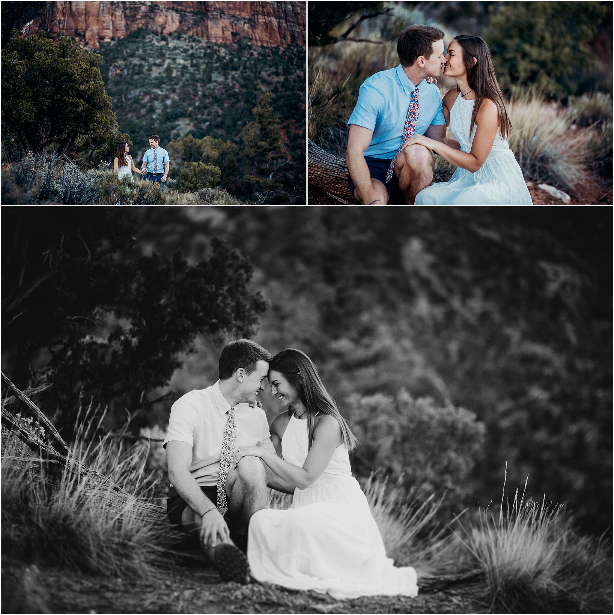 zion national park adventure engagement session zion portraits utah photographer arizona photographer 12.jpg