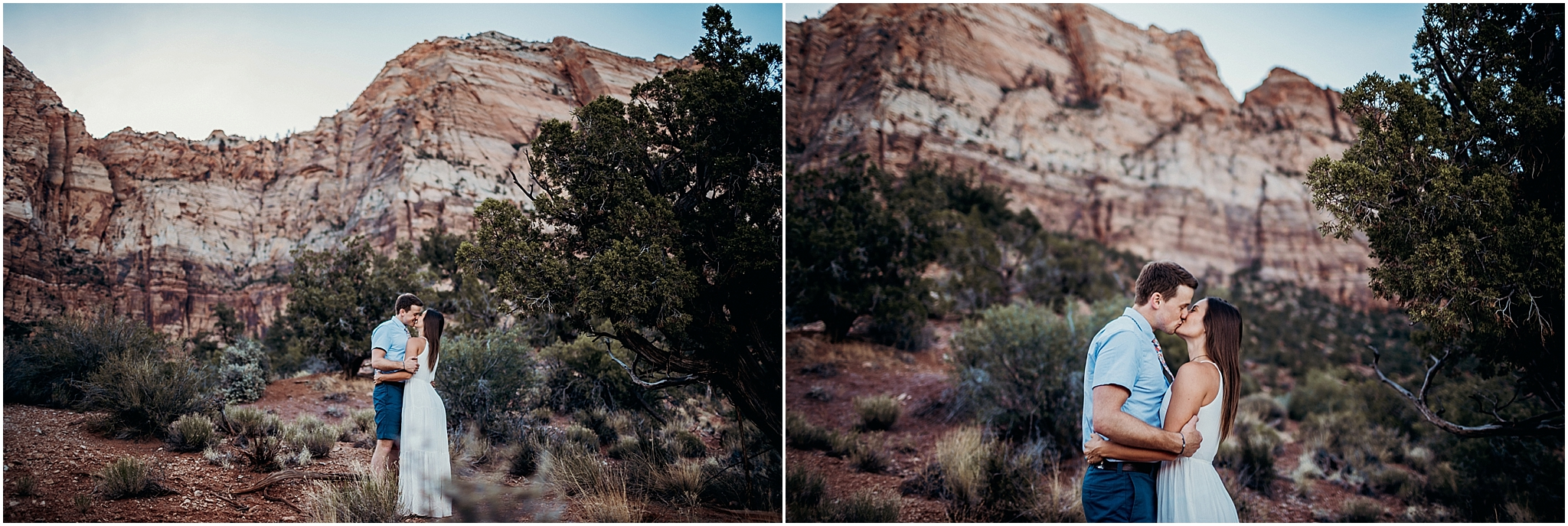 zion national park adventure engagement session zion portraits utah photographer arizona photographer 15.jpg