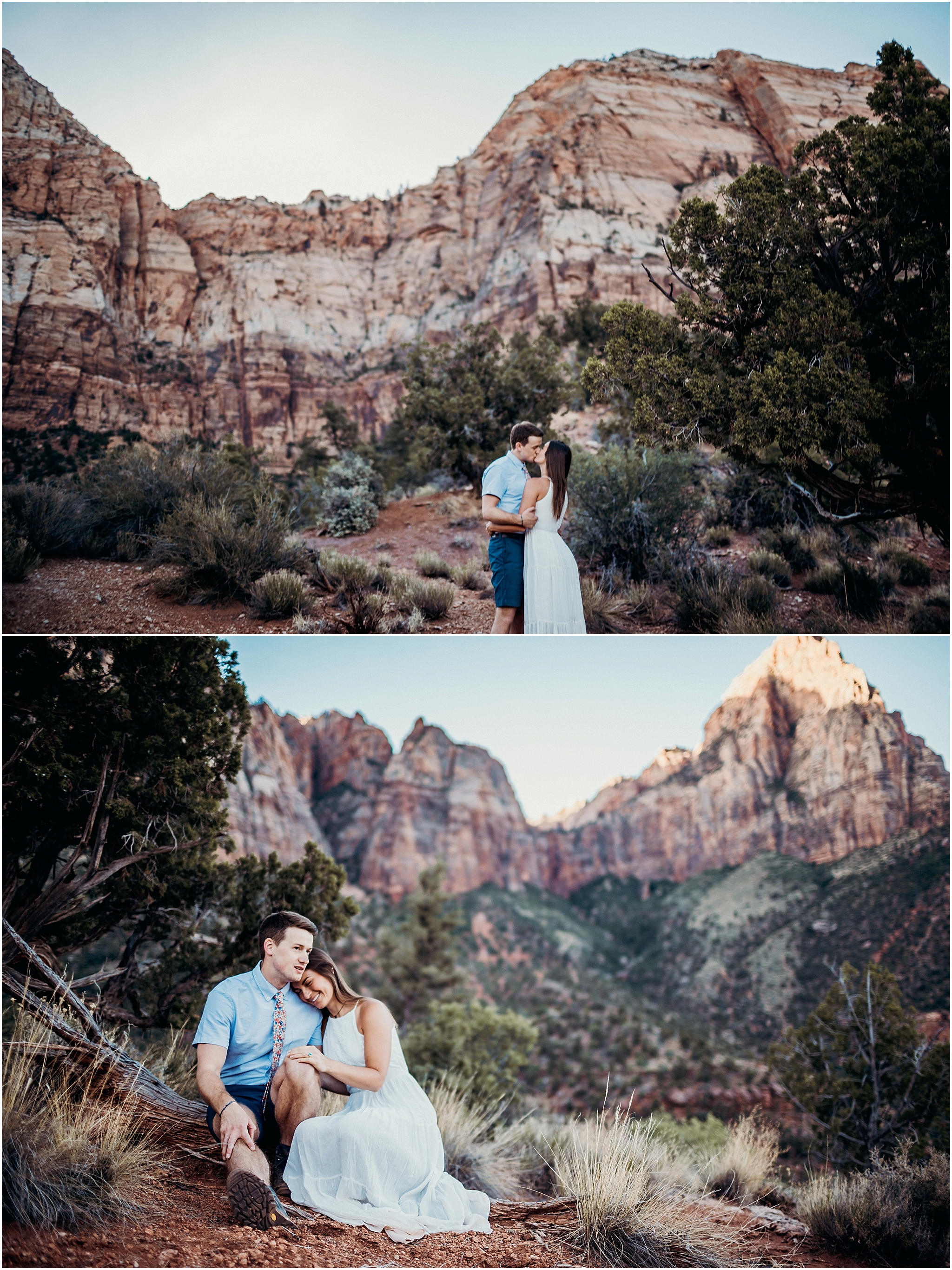 zion national park adventure engagement session zion portraits utah photographer arizona photographer 13.jpg