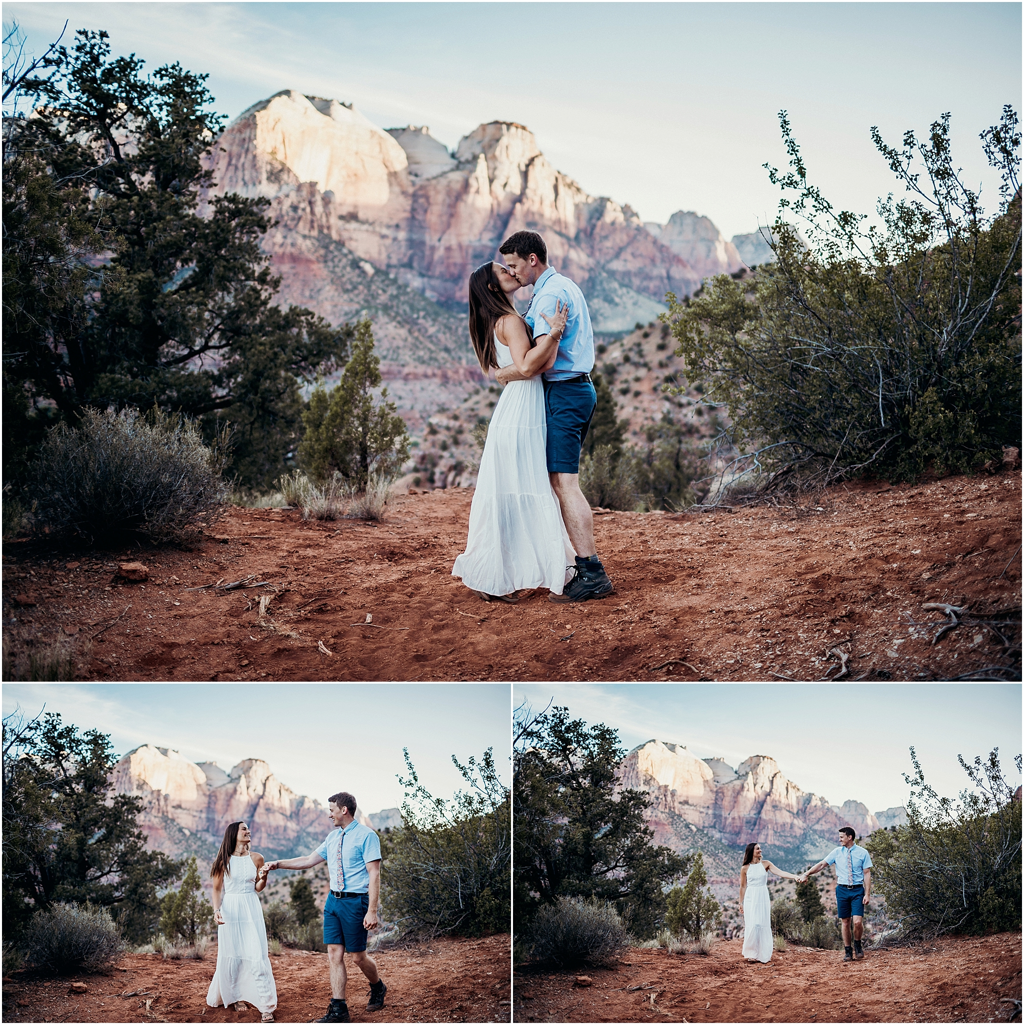zion national park adventure engagement session zion portraits utah photographer arizona photographer 17.jpg
