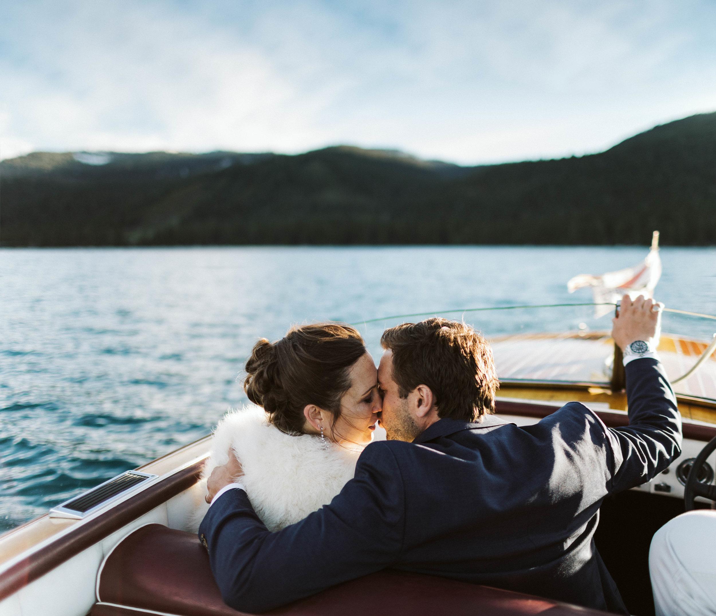 elope on lake tahoe