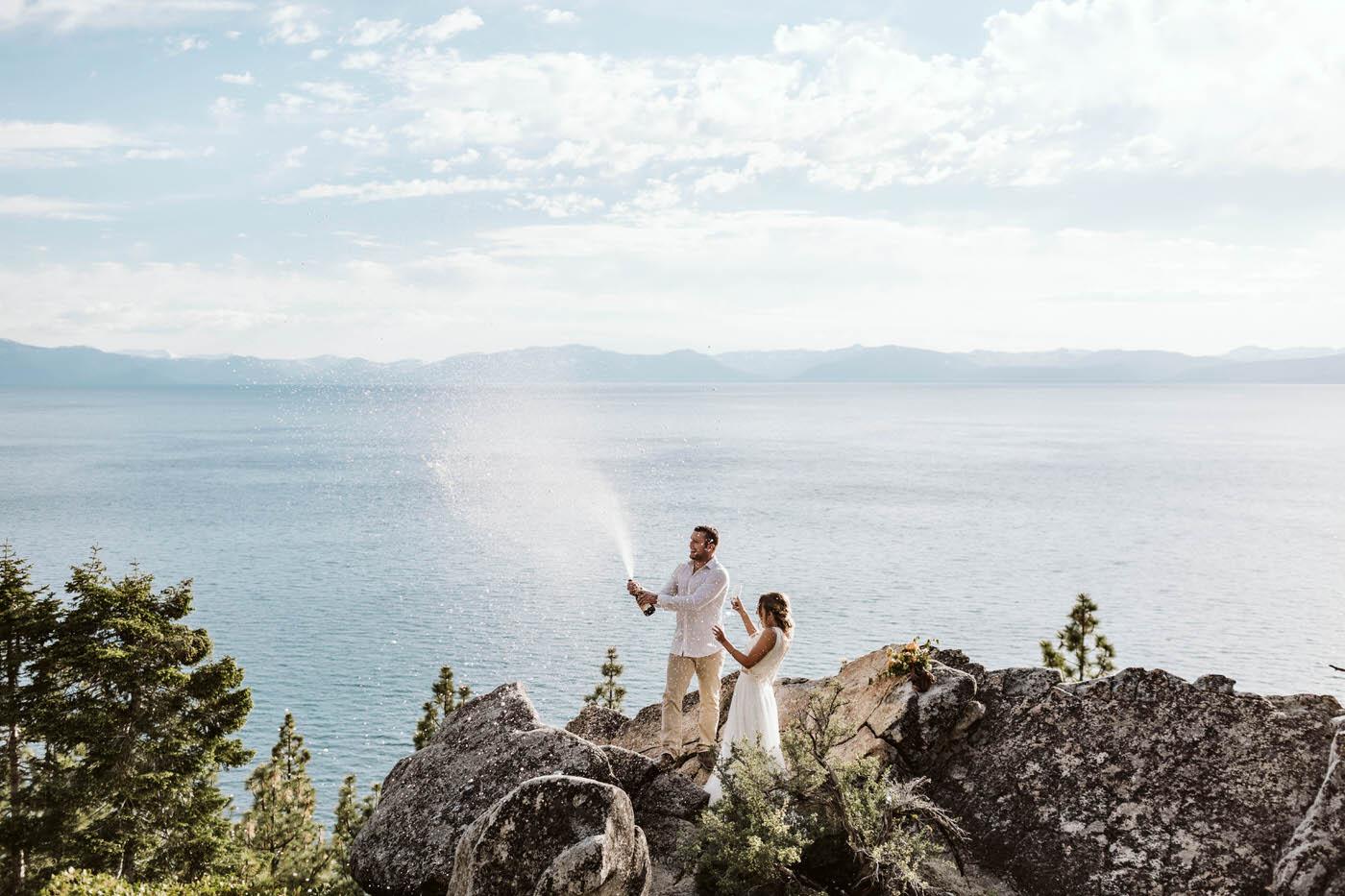elope in lake tahoe packages