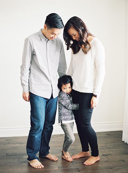 Our family captured by Lauren Kurc