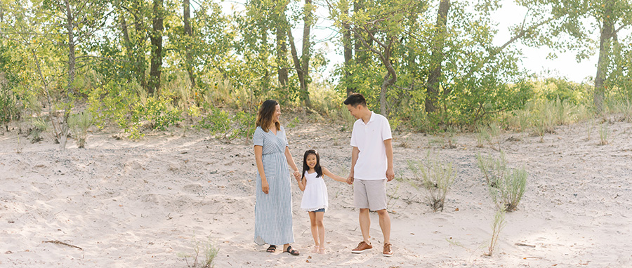 My family in Prince Edward County photographed by Tara McMullen Photography