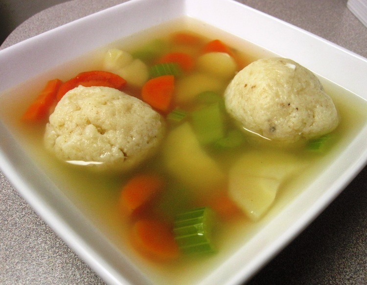 Stoll Family Matzo Ball Soup