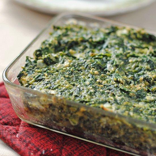 The Bortman Spinach Kugel