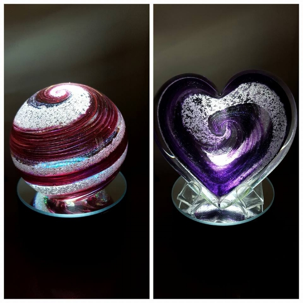 001 Red Ball & Purple Heart on lighted base.jpg
