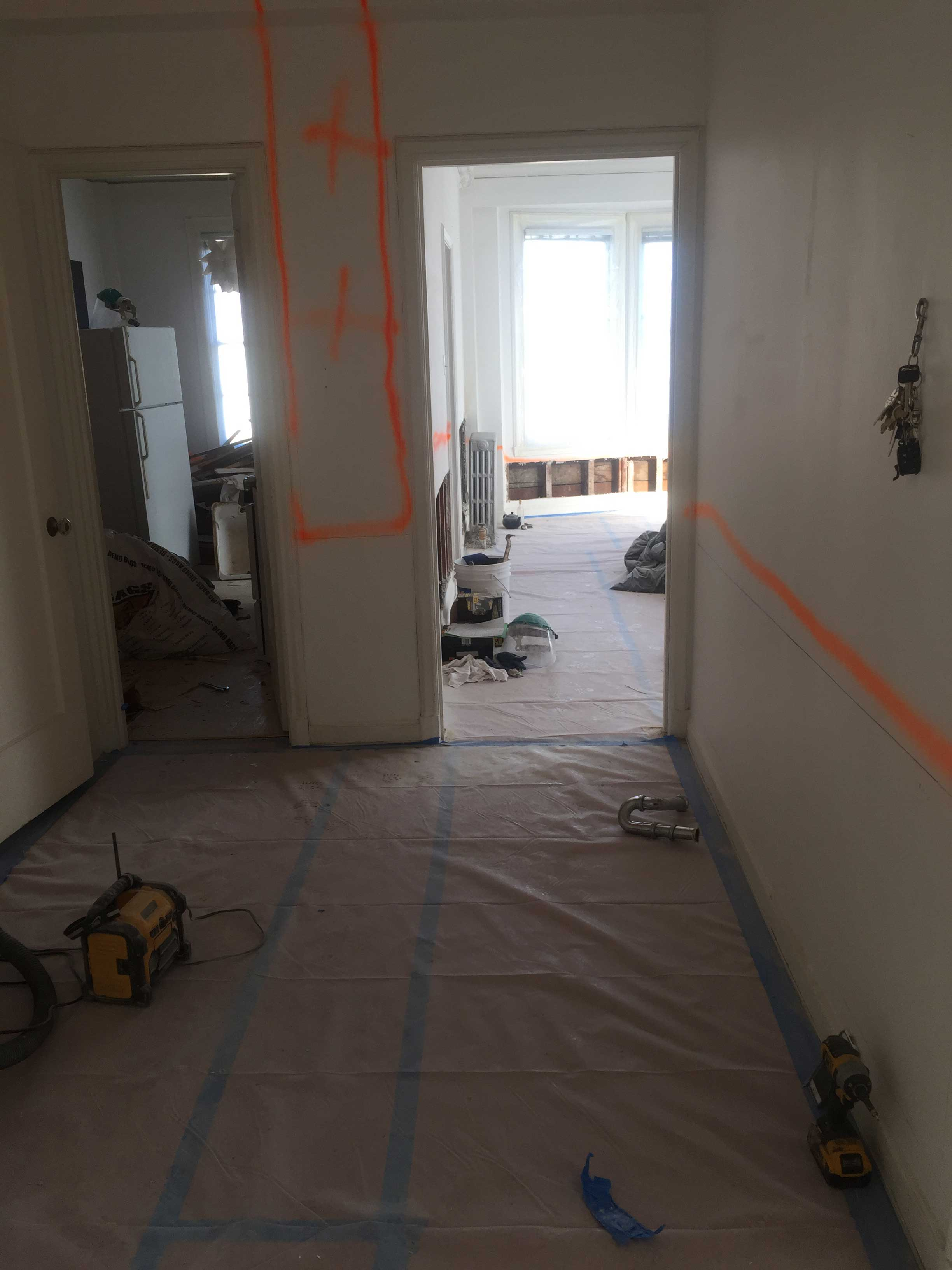 Markings and Preparation for Lead Remediation