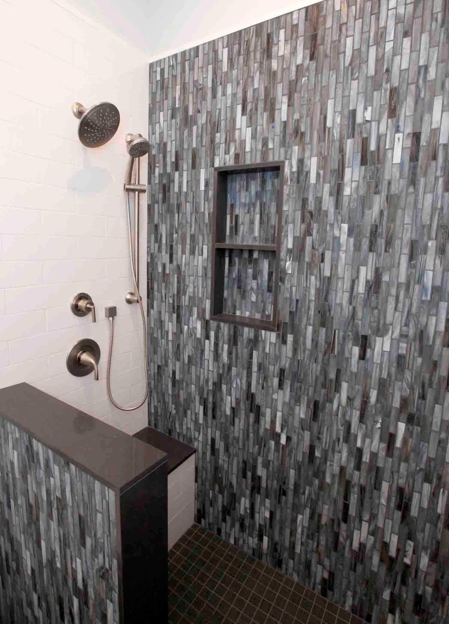 Bathroom Remodel with Custom Shower