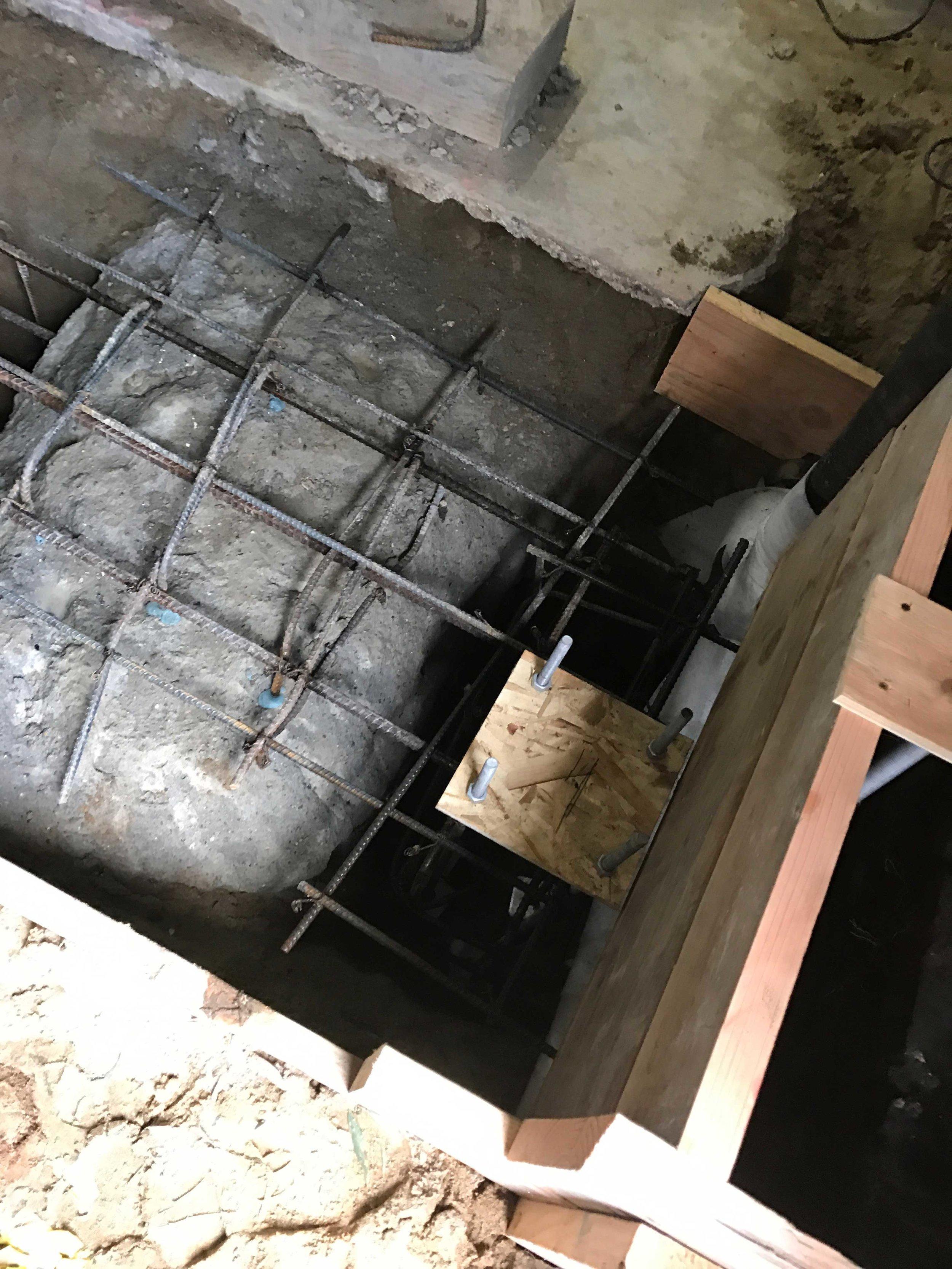 Steel-beam Seismic Upgrade & Underpinning