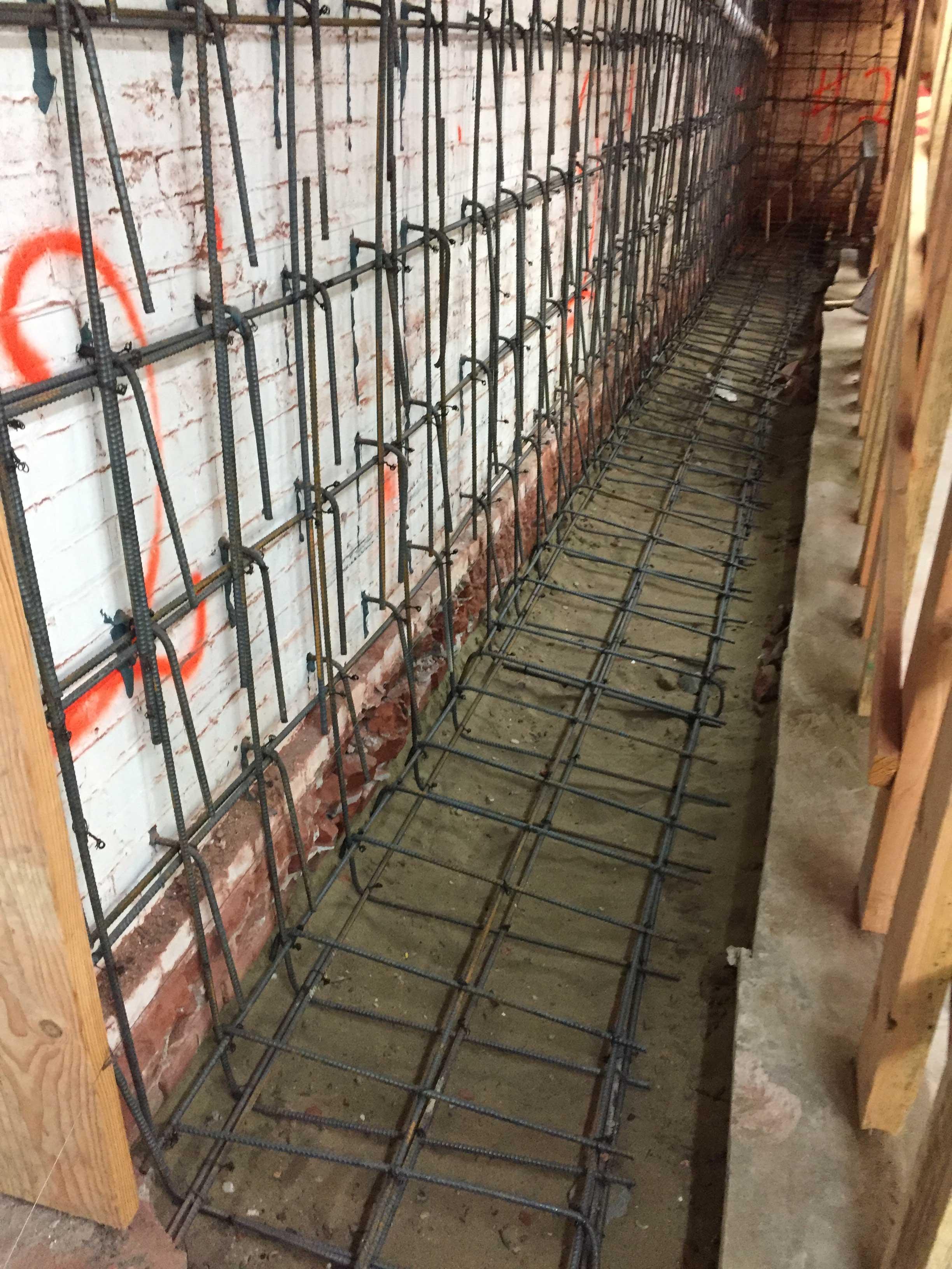 Retro-fit & Seismic Upgrade to Brick Foundation