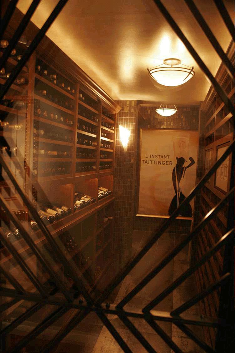 Wine Cellar Remodel