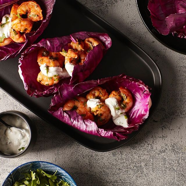 Smoky Shrimp Cabbage Leaf Wraps for The Chinese Medicine Cookbook #shrimp #cabbage #cilantro #paprika #lime #thechinesemedicinecookbook #cookbook #callistomedia #foodstylist #foodphotography #foodstyling 📷 @eviabeler