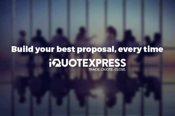 Build your best proposal