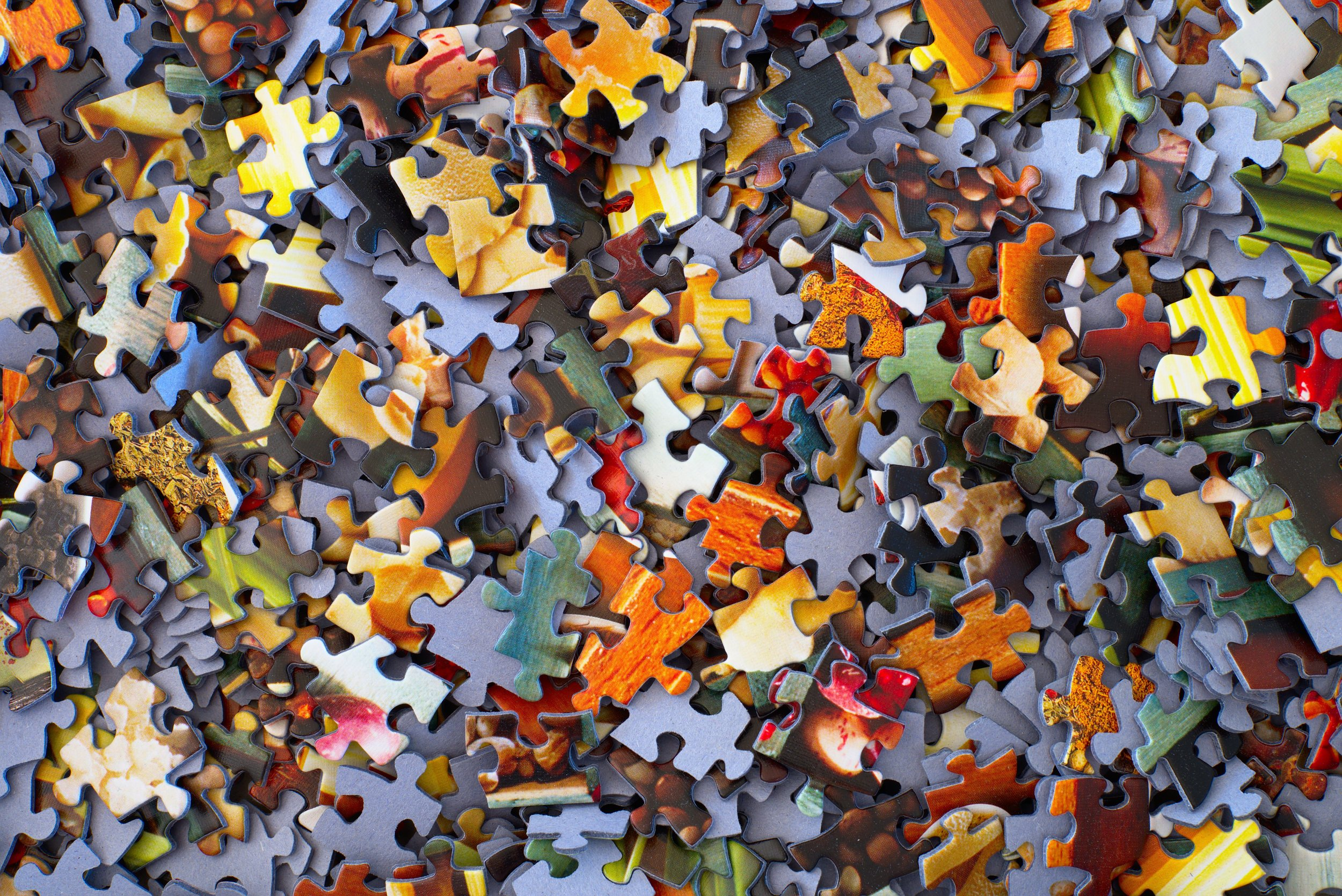 It's no puzzle, but there are pieces -
