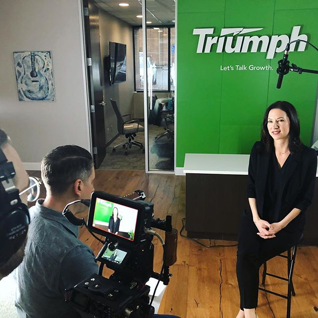 Spending our last morning in Nashville after hanging with our pals from #TriumphBank this week. - Videos were shot / images were taken / good food was eaten / traffic was conquered. - Special guest stars: @prptlmotion and @allisonrodgers