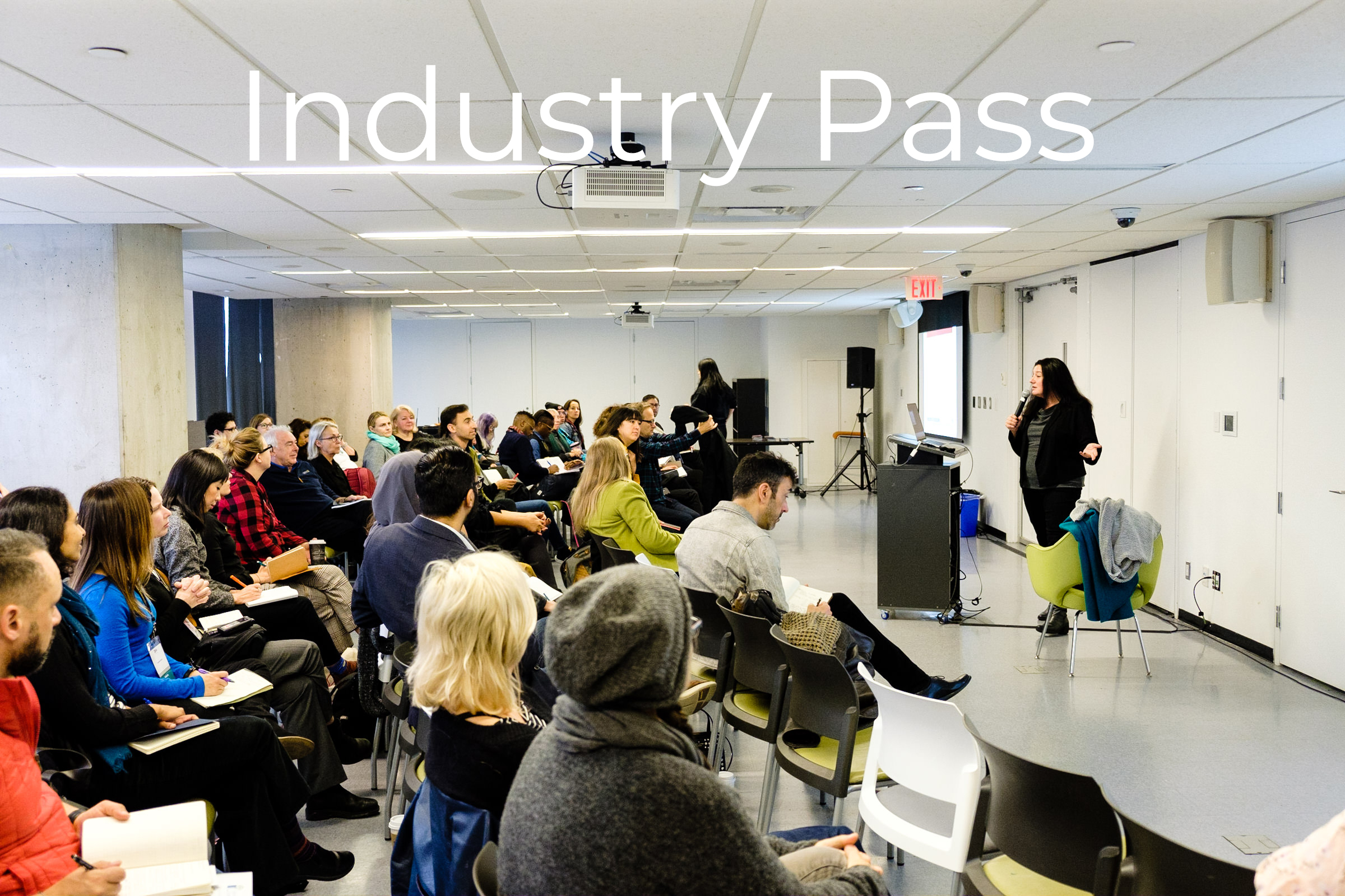 Industry Pass$125 - Great for filmmakers and industry people!Industry Pass gives you access to:· 1 ticket per film screening, including Opening & Closing Night Galas· The Beat music night· 20th Birthday Party· Mediatheque· Industry Micro-Meetings· Industry-only eventsPasses are Not Transferable and tickets are based on availability.