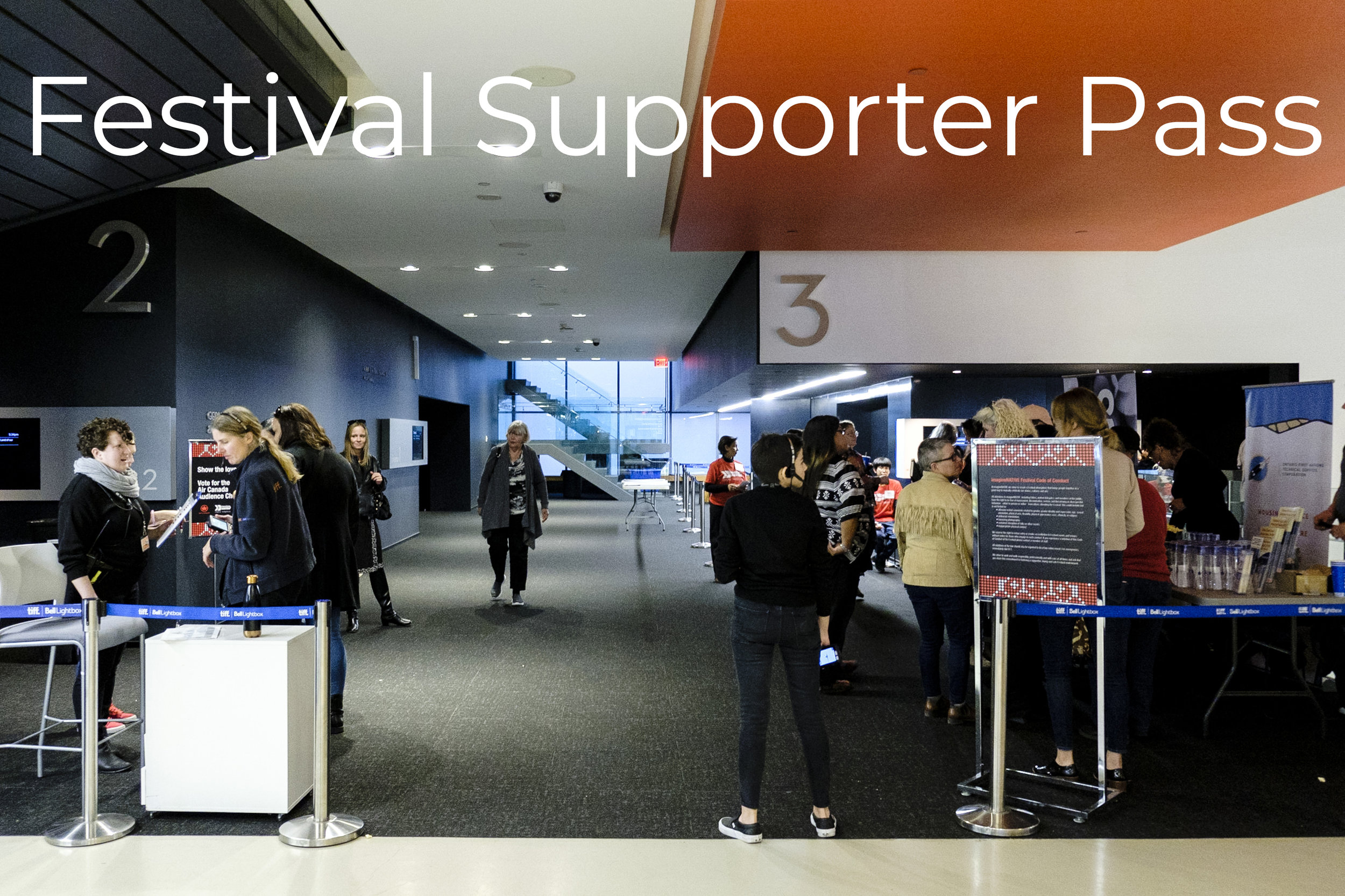Festival Supporter Pass$250 - Great for film lovers and those who want to give something more!Festival Supporter Pass gives you access to:· Tax receipt for $150· 1 ticket per film screening, including Opening & Closing Night Galas· The Beat music night· 20th Birthday PartyPasses are Not Transferable and tickets are based on availability.