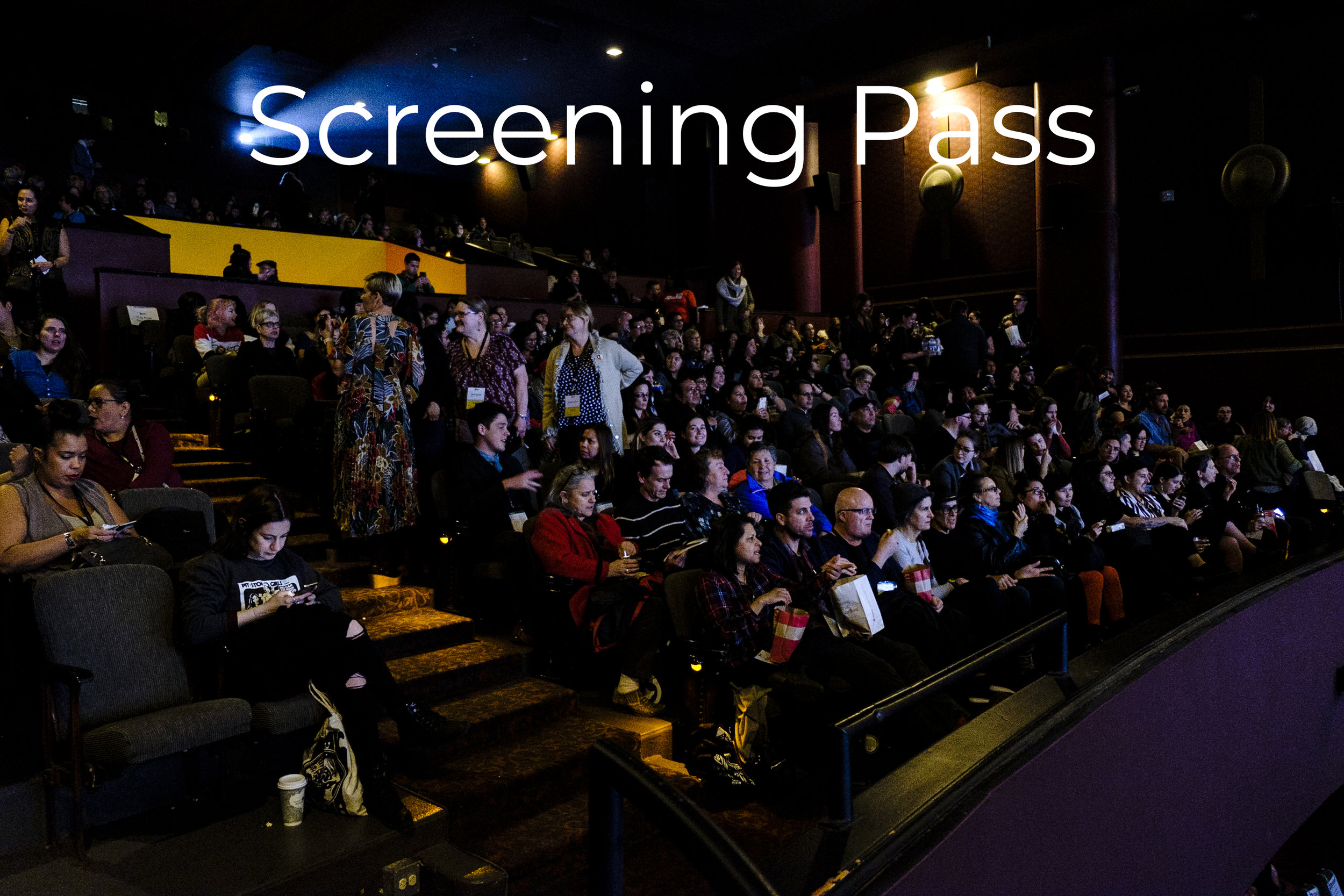 Screening Pass$100 - Great for film lovers who plan to see multiple screenings!Screening Pass gives you access to:· 1 ticket per film screening, including Opening & Closing Night Galas· The Beat music night· 20th Birthday PartyPasses are Not Transferable and tickets are based on availability.
