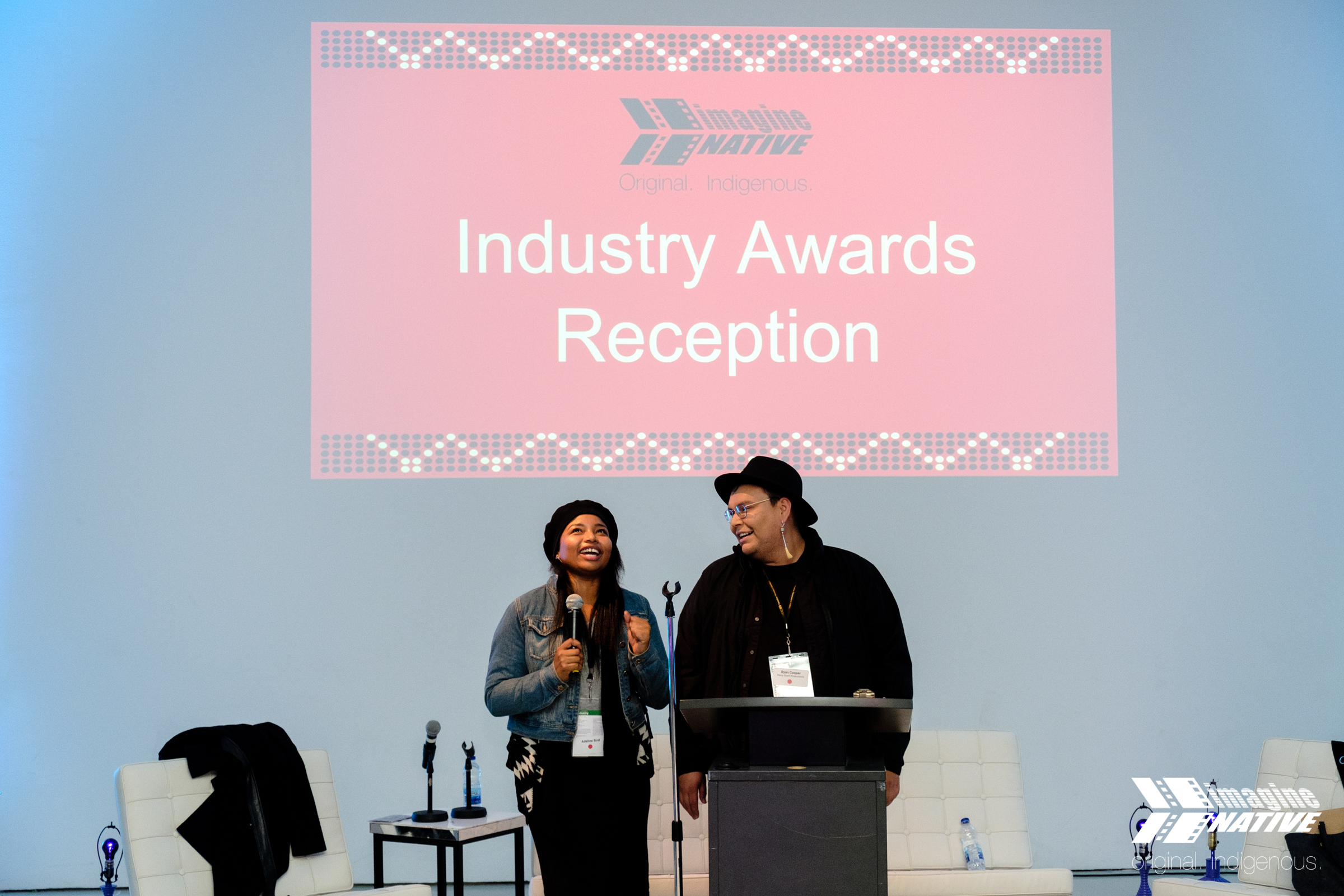 Netflix + You and International Networking Day - Running October 22 - 26, 2019, the Industry Days at the 20th imagineNATIVE Film + Media Arts Festival presents over 30 panels, workshops, networking and social activities specifically focused on advancing the careers, artistry, and networks of Indigenous screen content creators.read more…