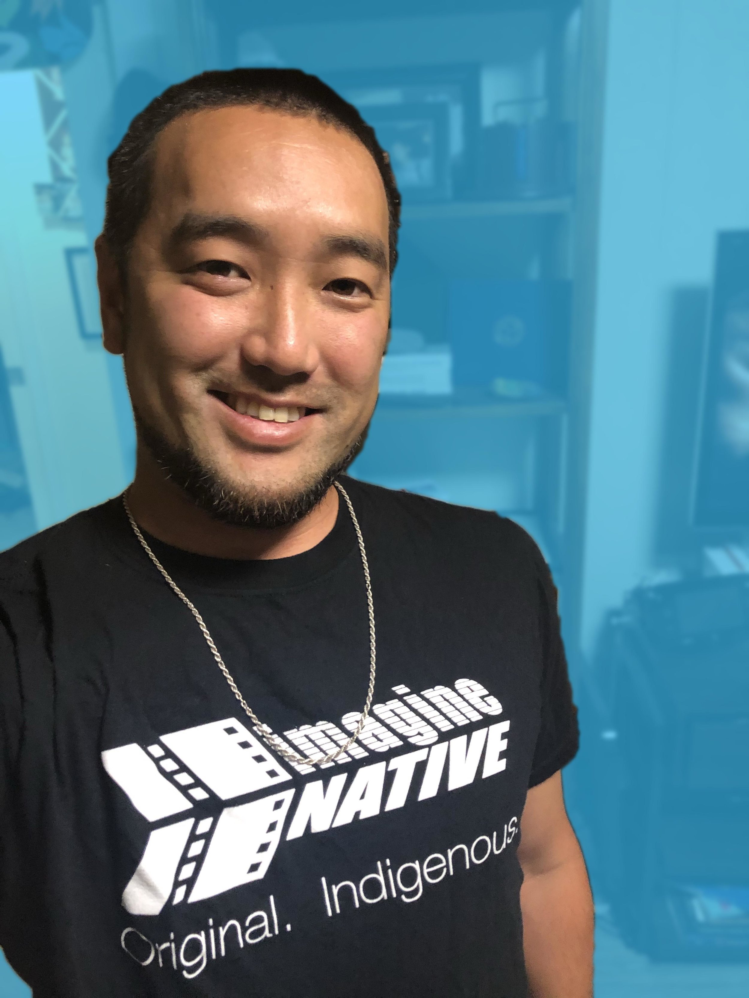 """- """"The imagineNATIVE GDC Scholarship gave me a chance to do something that I probably would not have done on my own because of my financial situation. Games are bigger than just us as individuals, our journey is a lot different than many devs at GDC. This program needed to happen and I am so grateful to be a part of it.""""Nathan Nahina(Ka Lāhui Hawai'i)"""