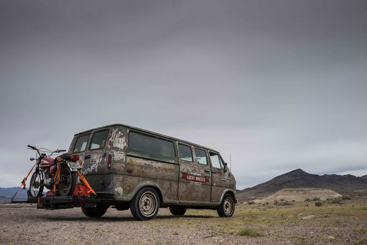 The Green Bean in Death Valley. #wheresthegreenbean