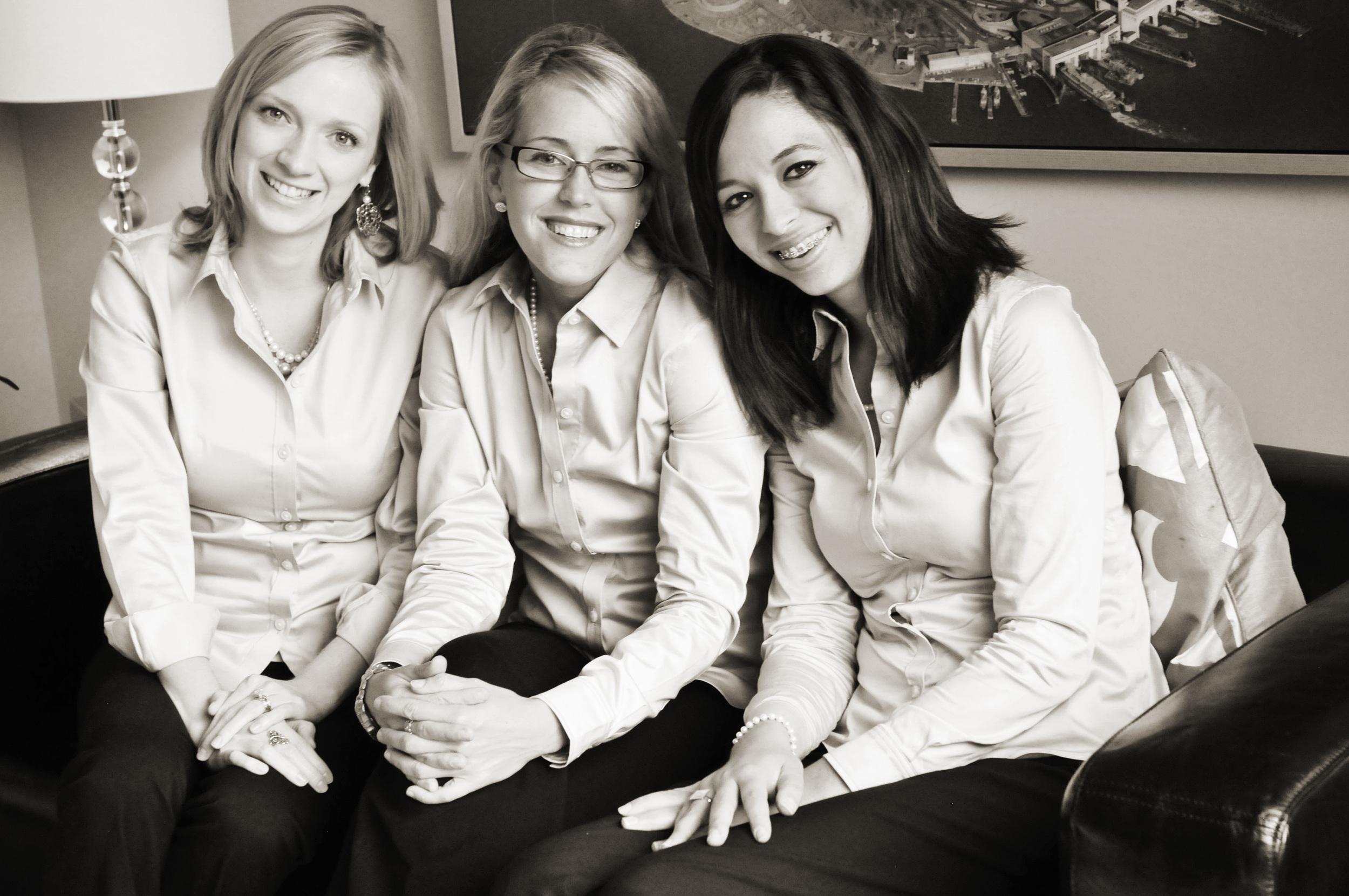 Lauren, Emily, Hannah