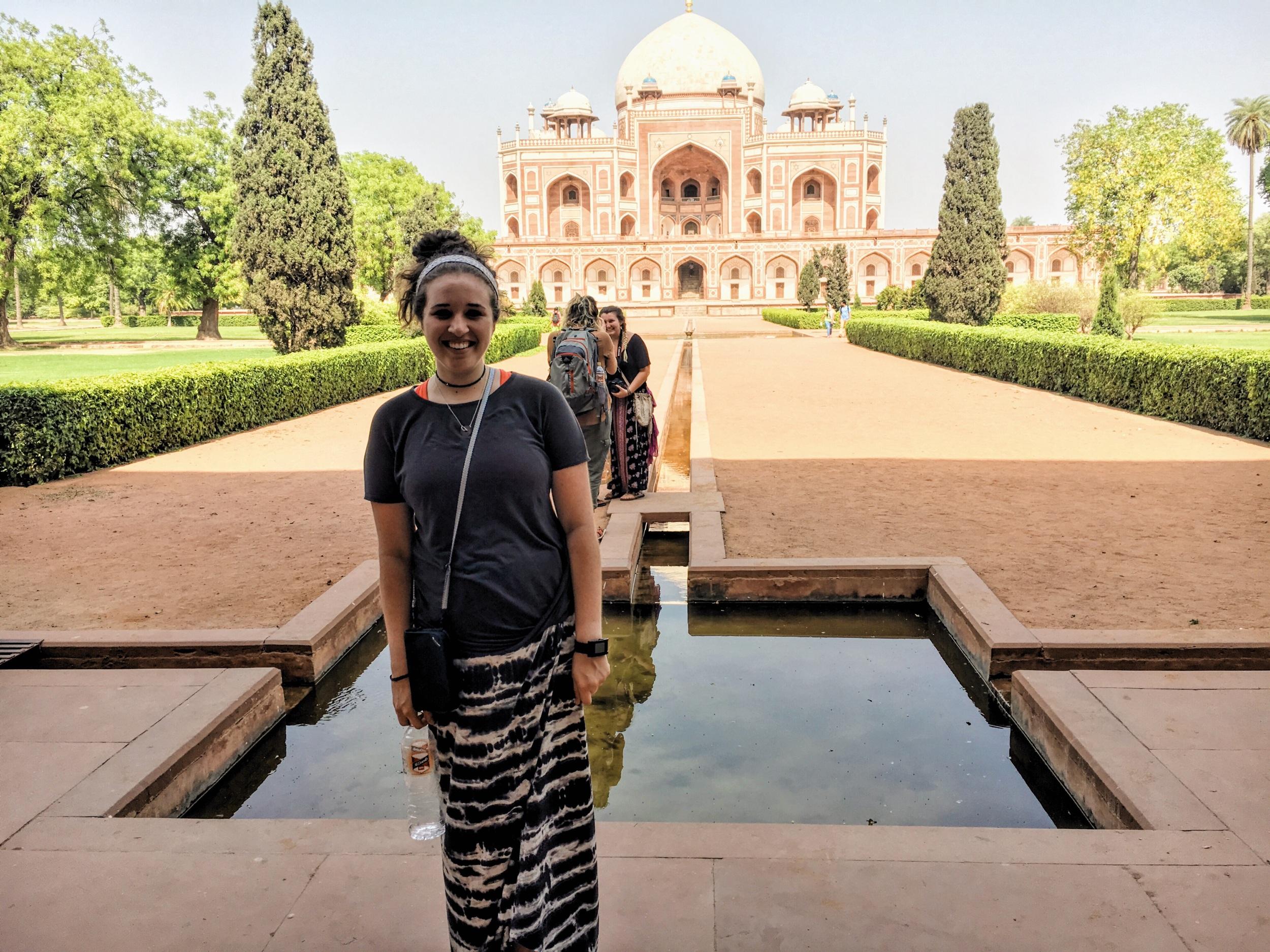 Humayans Tomb is a mini Taj Majal basically