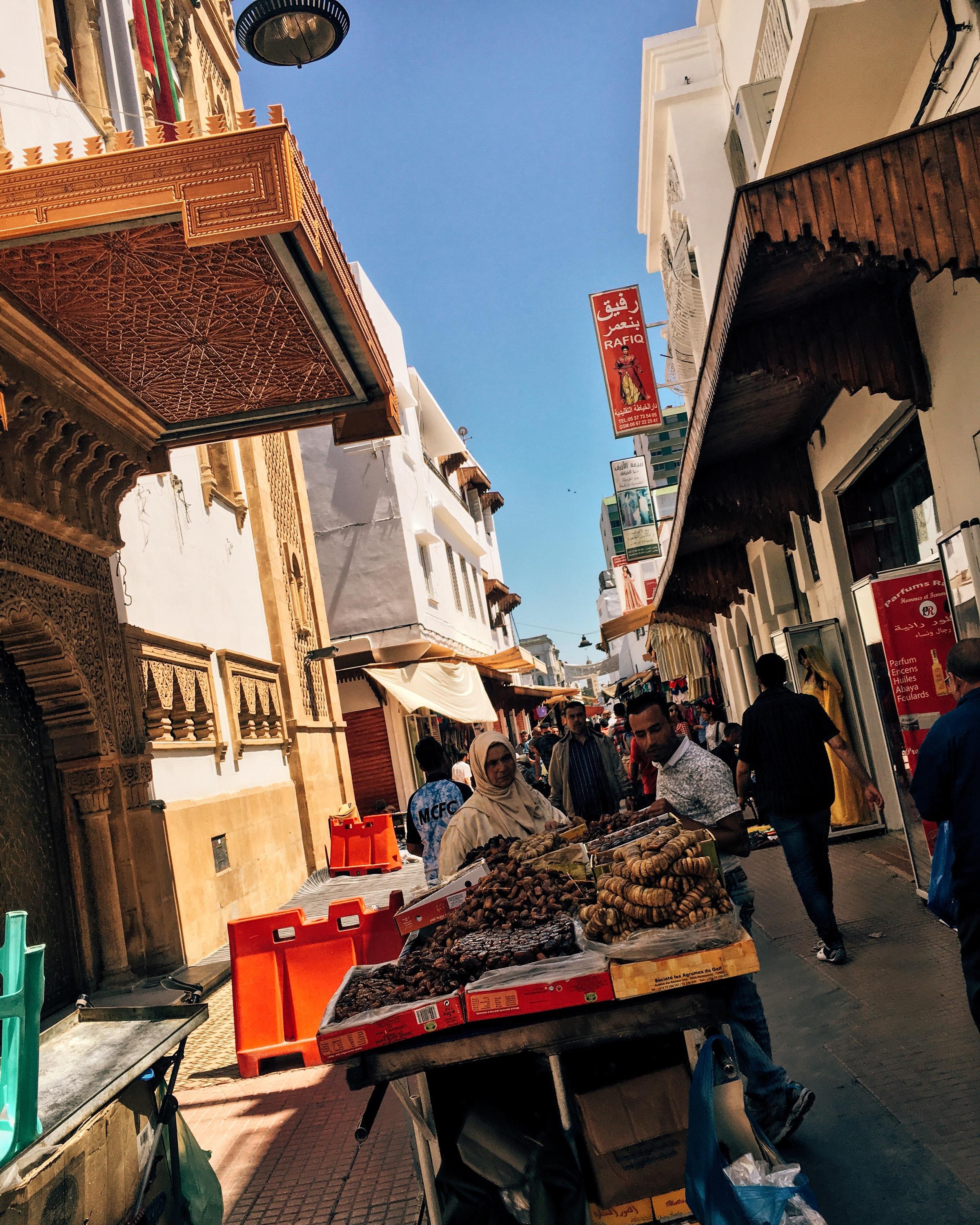 the medina roads can be a bit overwhelming