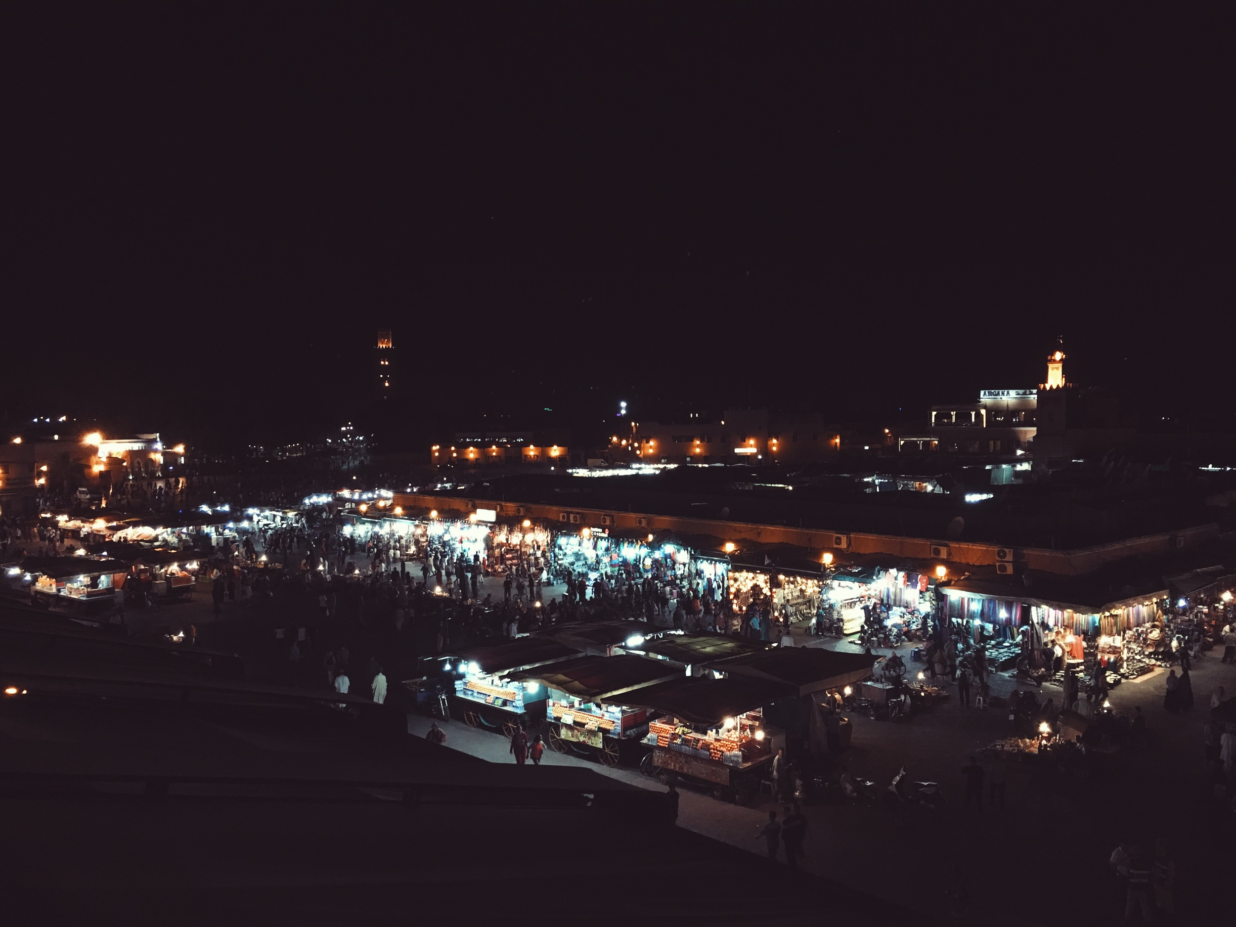 marrakech by night is straight from a dream
