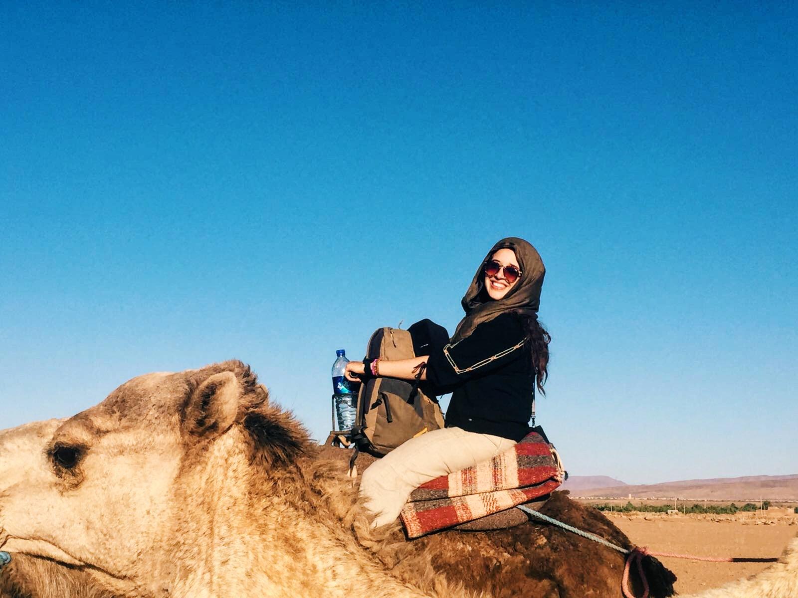 got photobombed by a camel, lol..