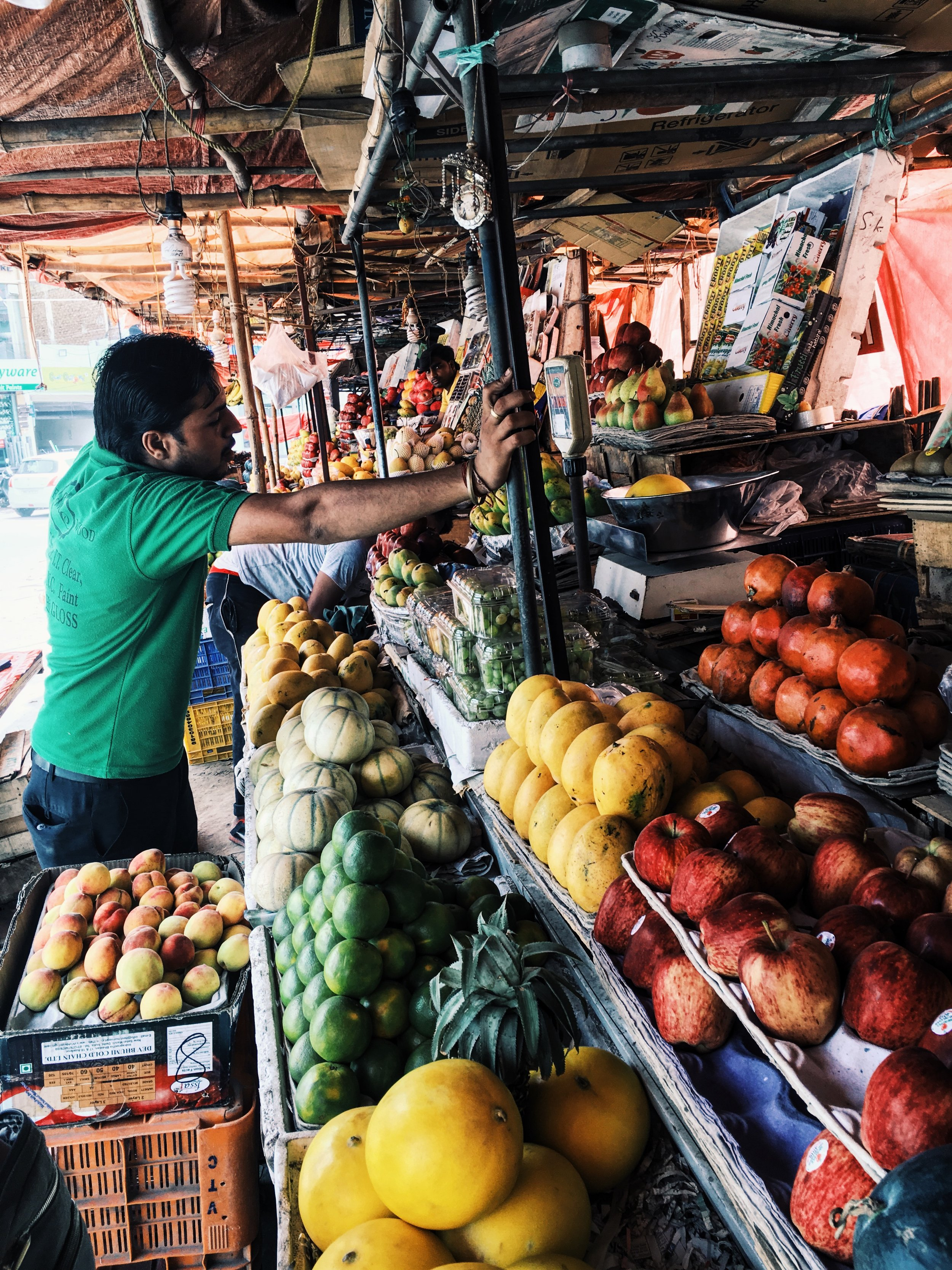 would you just look at the fruit stands outside our house! Delhi- Faridabad, where I'm staying- is divided into sectors, kinda like the hunger games haha! I live in sector 28, the sector known as the fruit market!! it lives up to its name, no doubt!