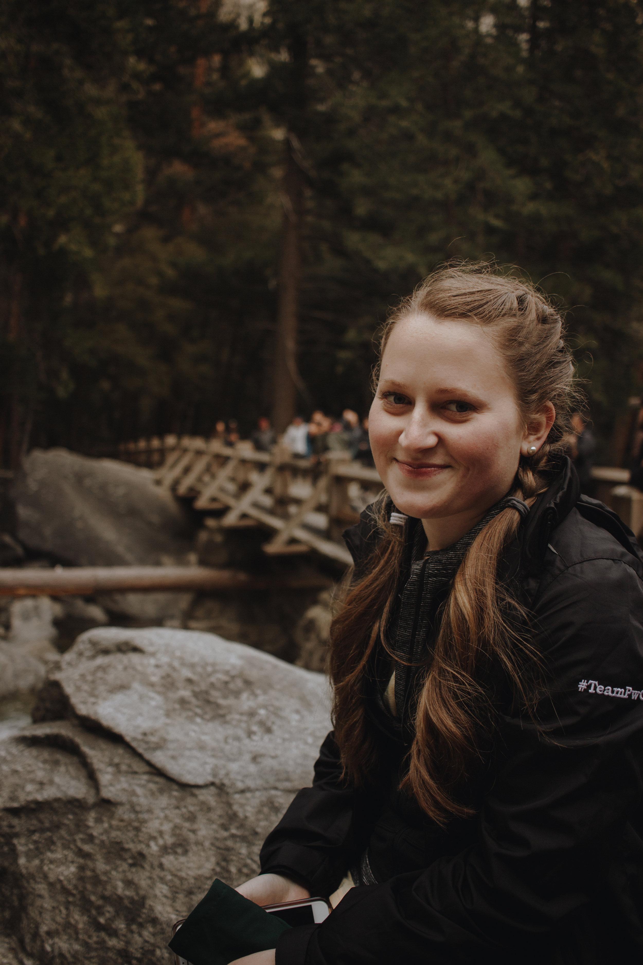 Lower Yosemite Falls + Jen