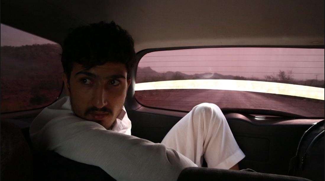 Babrak in car.png