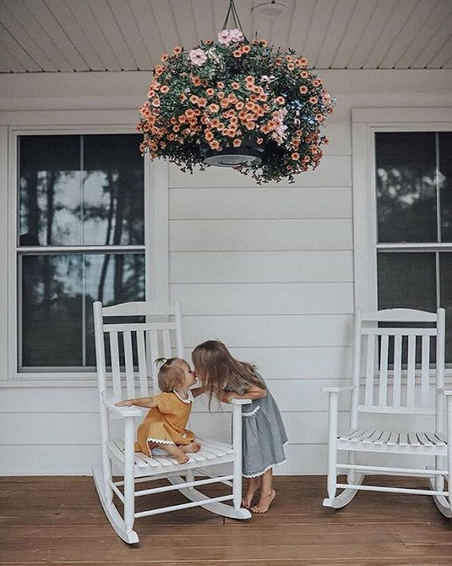 """Side by side, or miles apart... sisters will always be connected by the heart"" ❤️ • • The Abbey Button Dress is one of our new Fall Arrivals. Grab one for your precious little ones! 📷 @cassanola"