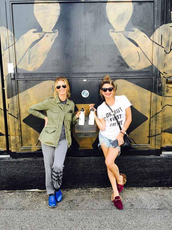 Cristine and Jill