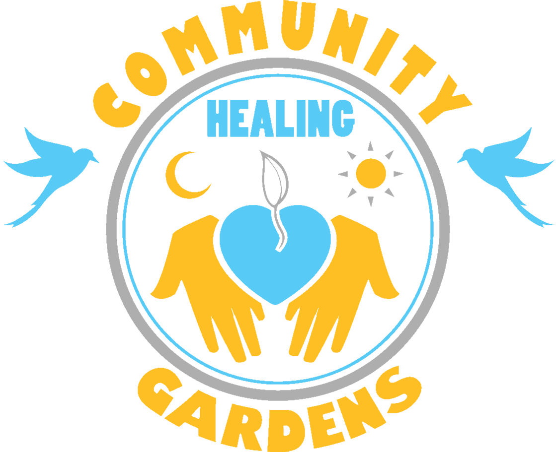 Click the logo to visit Community     Healing Garden's website