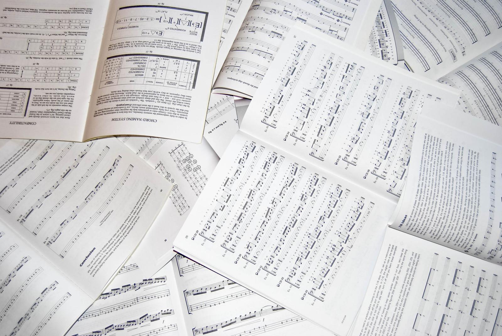 Partituras de música