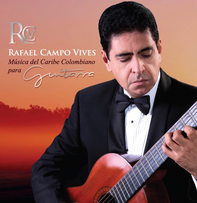 Música del Caribe Colombiano para Guitarra - Álbum discográfico inspirado en la música del Caribe con un contenido de obras para Guitarra de concierto entre fantasías,divertimentos,tema con variaciones, valses,porros, fandangos y danzones.Disponible en todas las plataformas y librerías virtuales. (CD baby, Spotify, iTunes, Deezer, Youtube, etc)