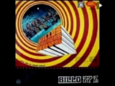 """Portada del disco larga duración que incluye """"Playa"""". Orquesta Billos Carracas Boys."""