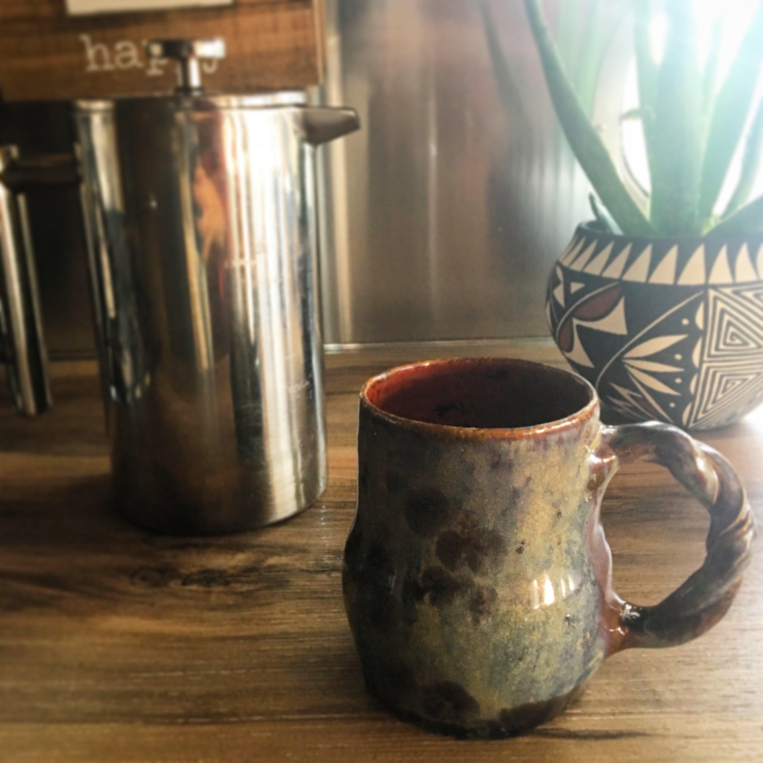 Love my new mug and pottery!