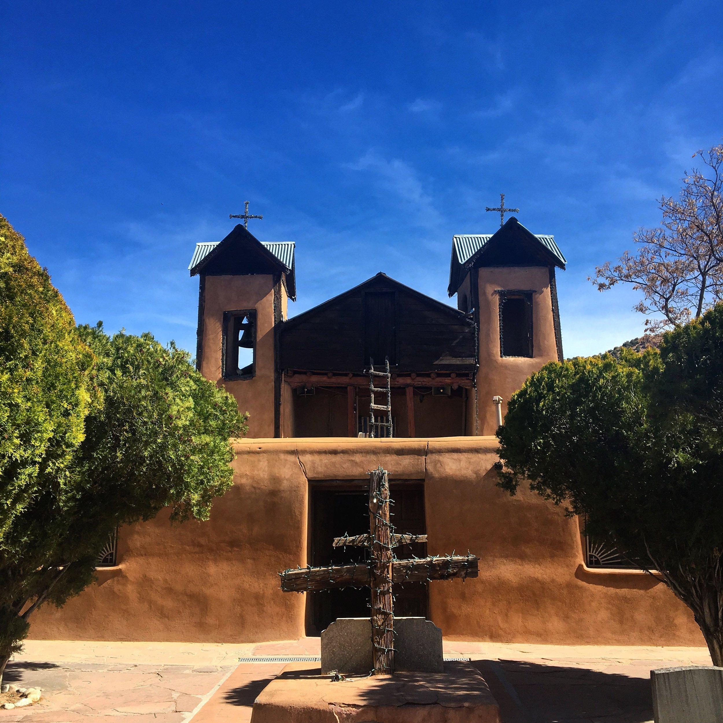 The chapel at El  Santuario de Chimayo