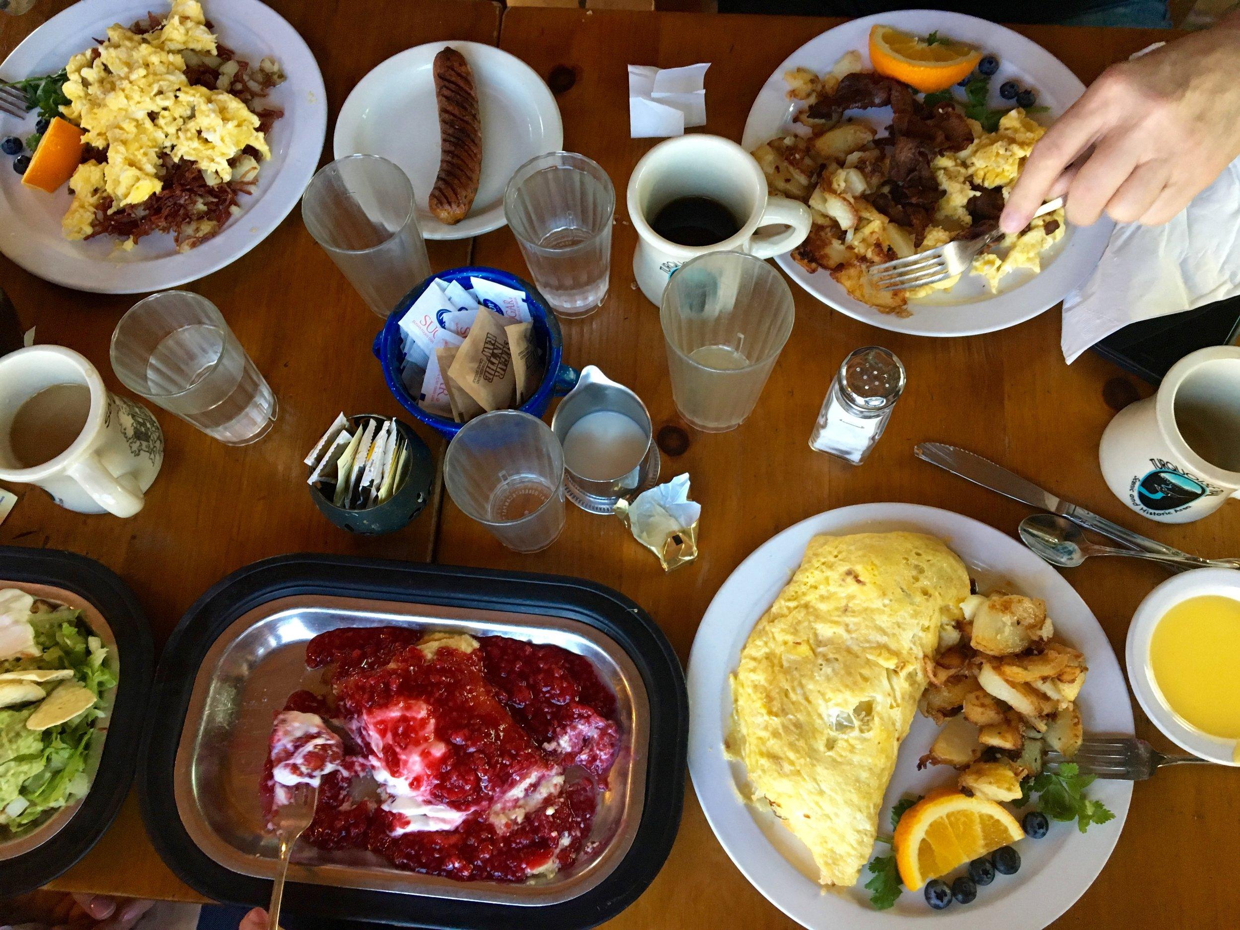 Seriously amazing breakfast!
