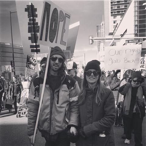 March in Denver!